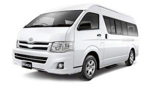 Sewa Mobil Hiace di Bali 2015 New