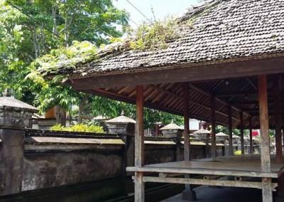 Pengelipuran Balai Adat Bali Bambu