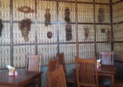 Penglipuran Tembok Bambu Klasik