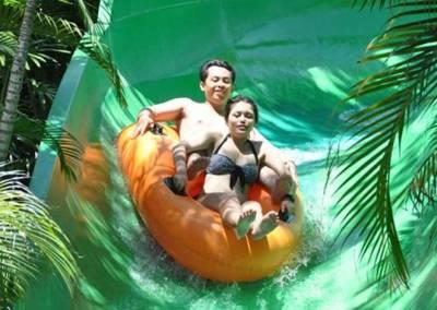Sewa Mobil di Bali - Waterbom - Raft River