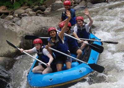 Paket Rafting Bali di Sungai Ayung 032016