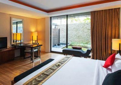 Hotel Le Grande Pecatu Bali Two Bed Room 05