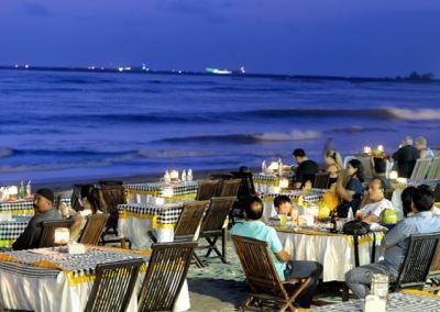 Pantai Jimbaran Bali Sunset Makan Malam Seafood 04