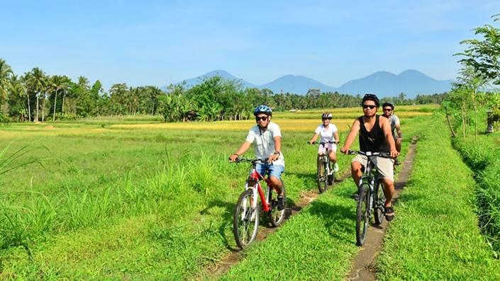 Cycling di Bali Jalur Kintamani Menuju Ubud