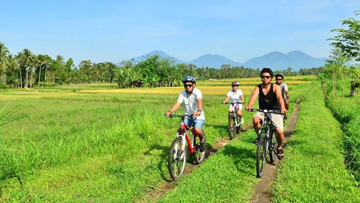 Cycling di Bali