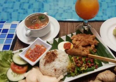Hotel Rivavi Kuta Beach Bali - Meal