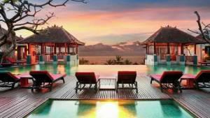 Mercure Kuta Bali Hotel Pemandangan Pantai Sunset