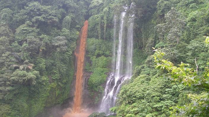 Air Terjun Desa Sekumpul Bali Alami dan Mempesona