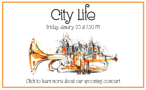 City Life - Winter Concert on Friday, January 25