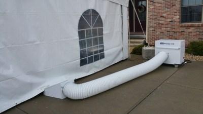 Tent Heater Rental Seward Tents LB White