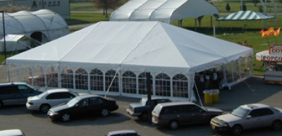 Frame Tent, Tent Rental, Columbus Indiana, Wedding Tent, Large Tent, Navitrac Tent