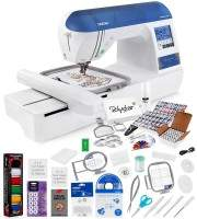 Brother Designio DZ820E Embroidery Machine with accessories