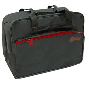 Black sewing machine carry bag