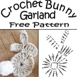 Crochet Easter Bunny Garland Free Pattern Sew Historically