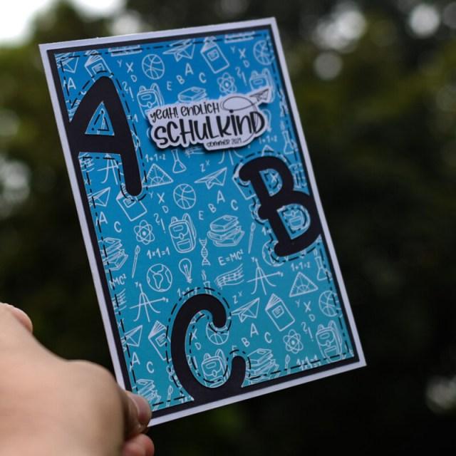 Schnelle ABC Karte zum Schulanfang