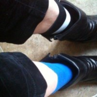 Wearing different socks and supporting research for Alzheimer's