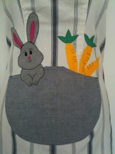 apron pocket detail