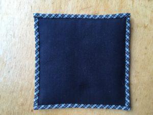 Two Scrap fabric sewings