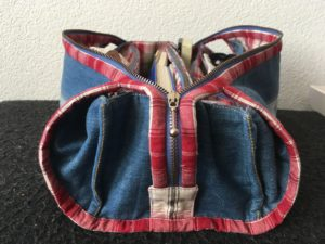 Jeanius sewing notions bag