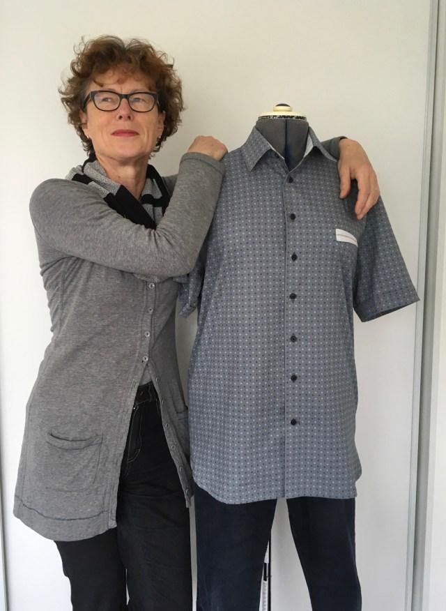 LMV Cliff mannenhemd korte mouw versie