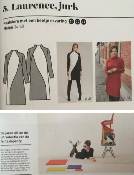 Day&Night Dress uitdaging 2018 stofkeuze