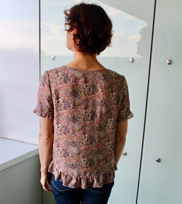 Wearable Studio Franki Top pattern