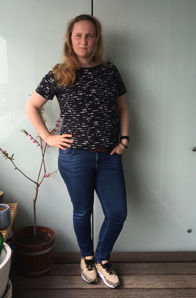 Youngest daughter wears Orageuse Paris Top