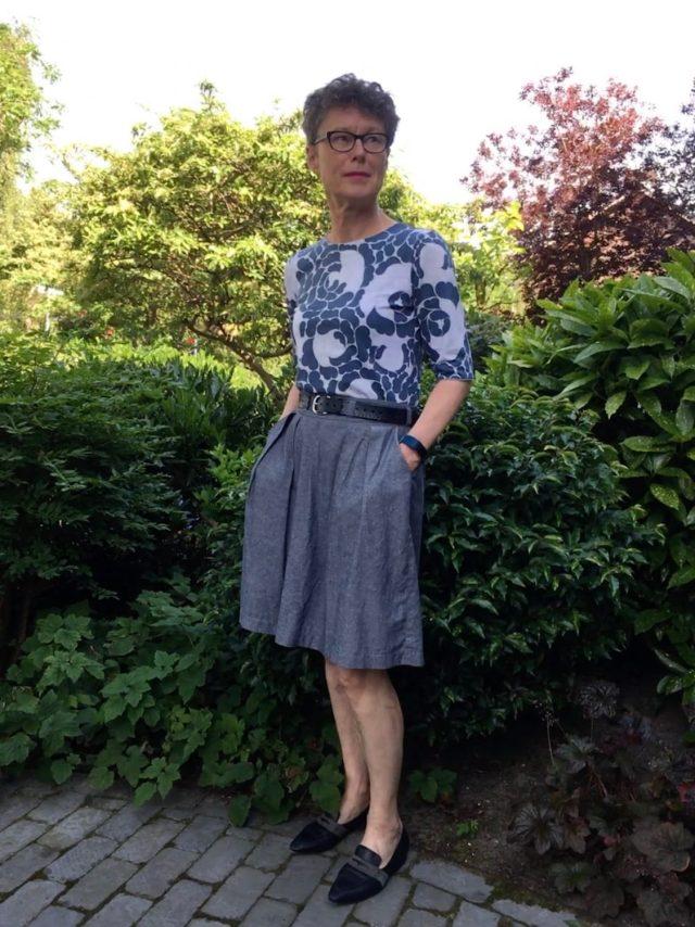 Marimekko design fabric Tee