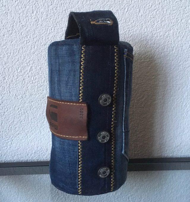 deurstopper van afgedankte jeans