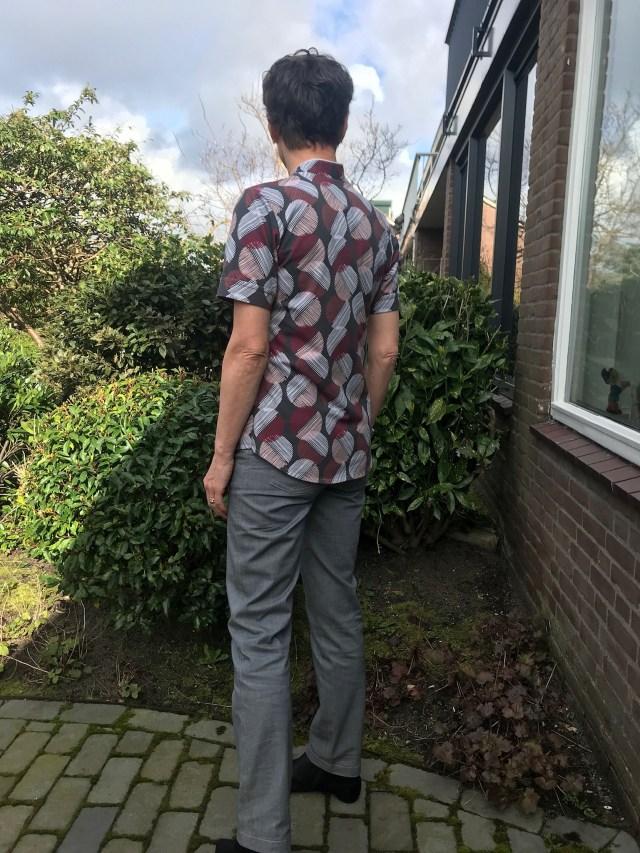 B-patterns jersey bluse Umeko-B