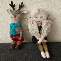 Two Sew Magazine Christmas figures