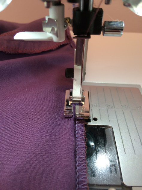 Sewing Avenue - - Purple Top Construction