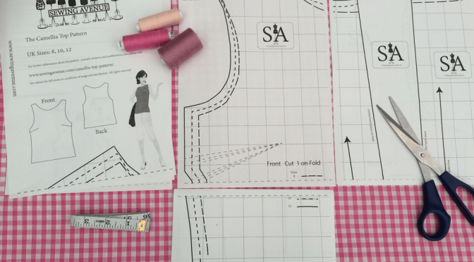 Free Sewing Pattern – The Camellia Top