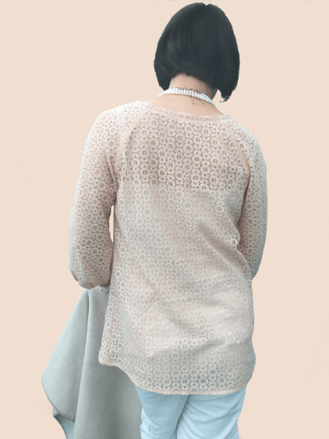 Lace Shirt Back image