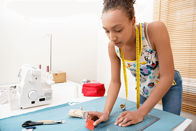 How to Draw Sewing Patterns?