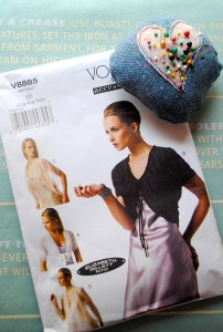 What could be more evening elegant than a bolero by Vogue?