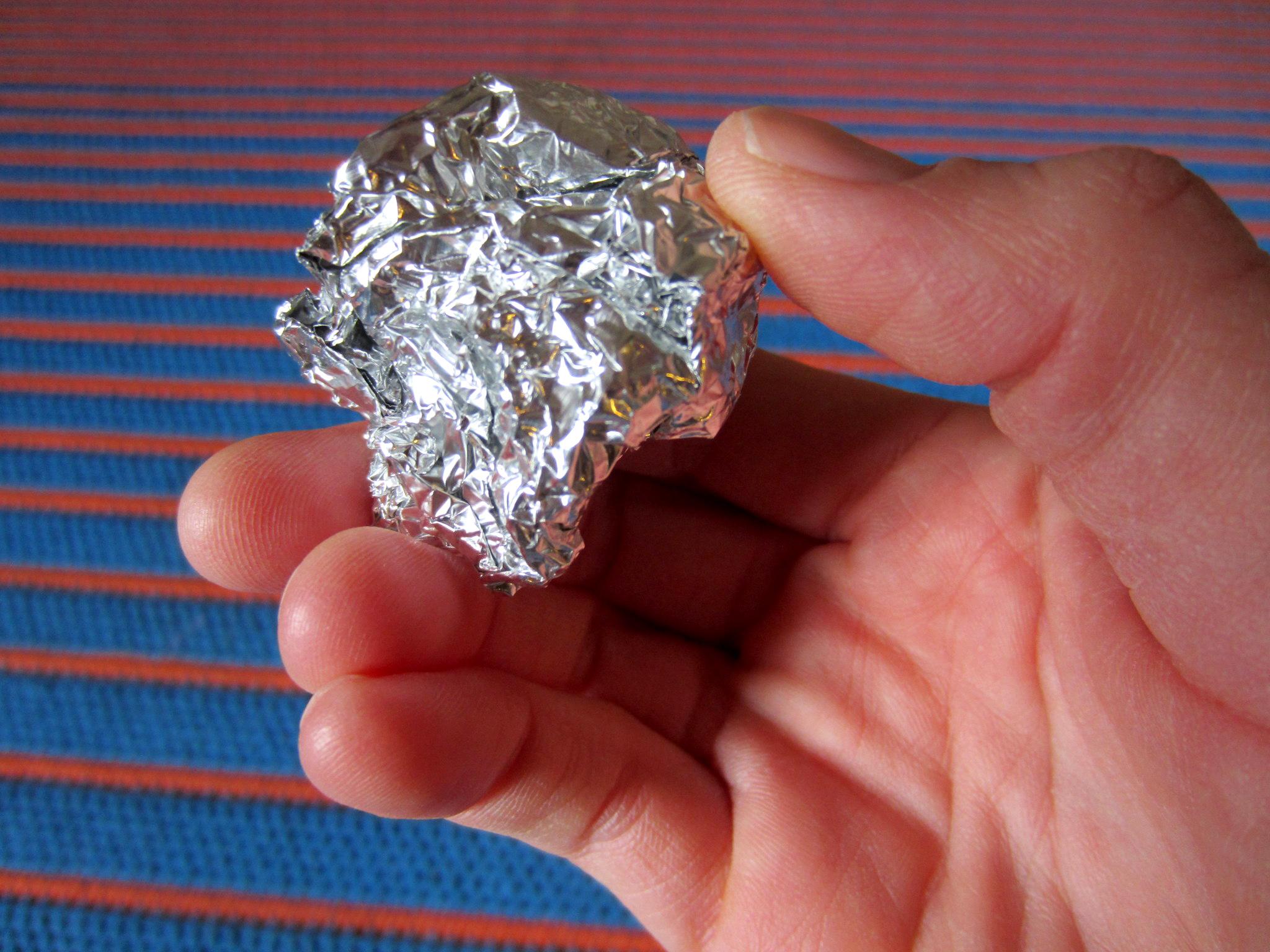 foil into a - photo #31