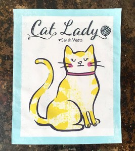 After the purrfection of her cats in From Porto with Love, she is back with the Cat Lady line of fabrics.