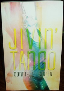 I recently finished a giveaway on Goodreads for this very copy of one book I wrote, Jivin' Tango.