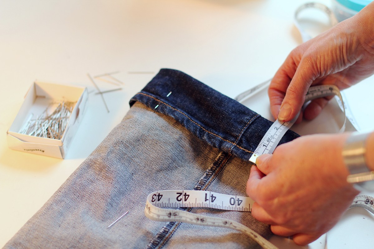 Spicing It Up! DIY Skirt Alteration