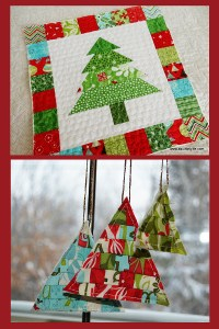 Photo credits: A Quilting Life, top; She Can Quilt, bottom.