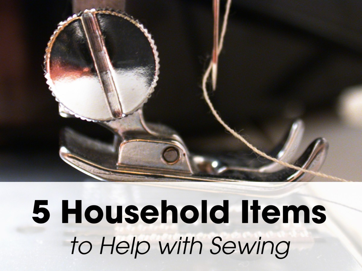 Five Household Items to Help with Sewing