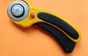Goodbye fabric scissors!