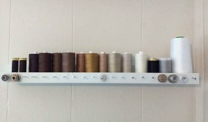 I keep my neutrals & browns organized by gradient.