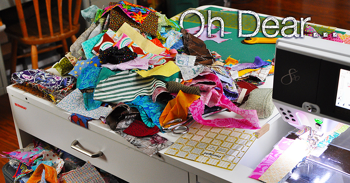 How to Store Your Fabric Scraps