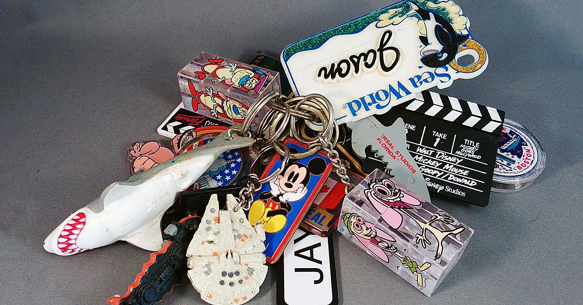 Scrap-Fabric Keychain!
