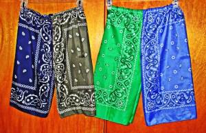 Voila! Ten-minute kid shorts.