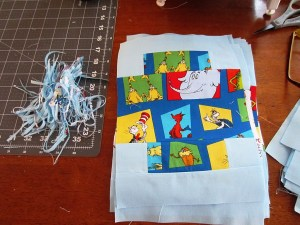 Quilt kits do NOT mean that the fabric is precut into the shapes you need.