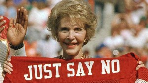 Nancy Reagan just says no - you can too!