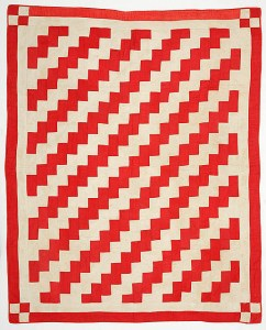 Streak of Lightning quilt, Ashley Van Haeften, from Flickr.